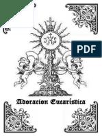 PARTITURAS ADORACIÓN