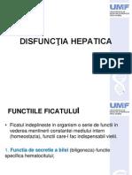 Disfuncţia Hepatica