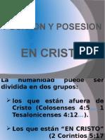 Posesión y Posición en Cristo