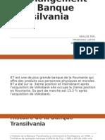 Un Changement de La Banque Transilvania