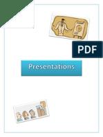presentations binder