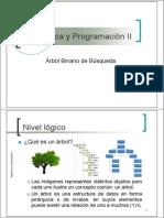 AlgoritmicaII-Arbol Binario de Busqueda