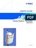 WXT510 User Guide in English Statie Meteo Vaisala