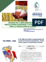 1. Charla Magistral Avances en La Implementación de Regulaciones Sanitarias Para La Producción De Quinua