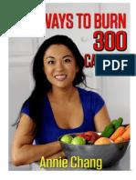 30 Ways to Burn 300 Calories eBook
