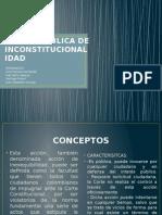 Acción Publica de Inconstitucionalidad