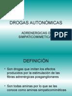 DROGAS AUTONÓMICAS
