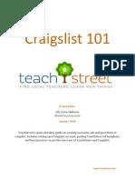 Craigslist 101