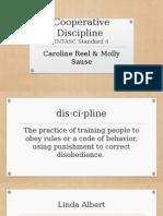 cooperitive discipline presentation - caroline and molly