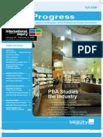 PBA Progress Fall08 Newsletter