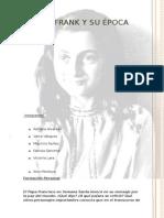 Ana Frank y Su Epoca