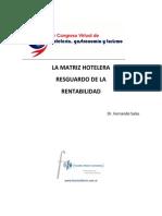La Matriz Hotelera. Fernando Salas