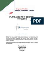 Planeamiento y Control Hotelero. Fernando Salas