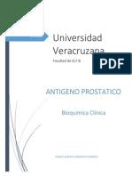 antigeno prostatico