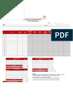 formulario de estructura de costo