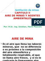 AIRE MINA Y AGENTES AMBIENTALES