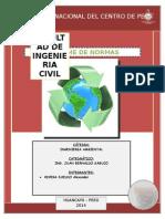 Informe de Normas Ambientales
