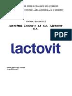 Sistemul Logistic La SC Lactovit SA