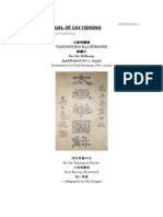 Manual de Tai Chi Do Cai Yizhong
