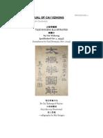 Manual de Tai Chi Do Cai Yizhong