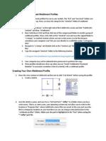 04 Creating Weldment Profile