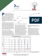 Design for Pressure Surge in Flowmaster