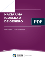 Hacia una igualdad de género. Compendio Jurisprudencial - Ministerio Público de la Nación. Año 2014