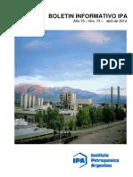 Boletin Informativo IPA Abril 2014