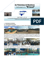 JACAL - Comunidad Viatoriana de Jutiapa (Honduras) - Nº 14 - Abril 2015