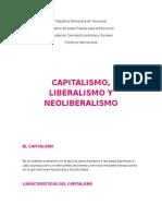 57956390 Capitalismo Liberalismo y Neoliberalismo