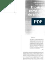 Silvestri y Aliata - El Paisaje Como Cifra de Armonia 1ra Parte