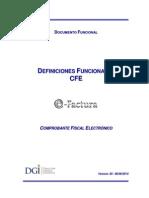 Documento Definiciones Funcionales CFE v05