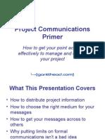 Project Communications Primer