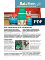 Gas for Caravans Motorhomes