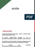 Teorias y Modelos Educativos . Educacion