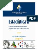 PROBALIDADES - EstadÃ-stica II