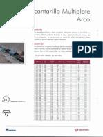 Alcantarilla Multiplate - ARCO
