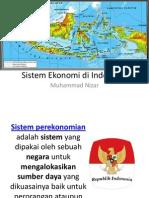 Sistem Ekonomi Di Indoneisa