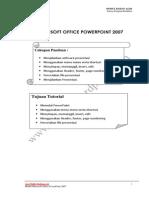 Modul Office Powerpoint 2007