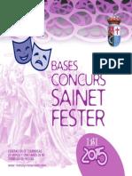 2015 - Concurso de Sainete Festero Ibi (Alicante)