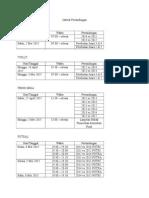 Jadwal Pertandingan Effervescent REVISI