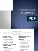 weebly thematic unit presentation