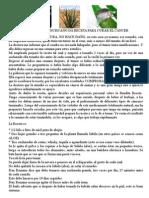 SACERDOTE FRANCISCANO DA RECETA PARA CURAR EL CÁNCER.doc