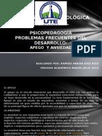 uteproblemafrecuentesdeldesarrolloapegoyansiedad-130502080829-phpapp02