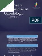 Urgencias en odontologia