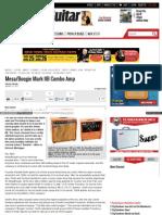 Mesa Boogie Mark IIB Combo Amp