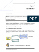 Capítulo v Reactores