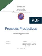 Unidad I - Tema 6 Procesos Productivos - CAD