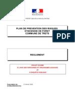 Reglement du PPRIF de TRETS 2015