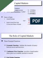 Cap Mkts and Stocks